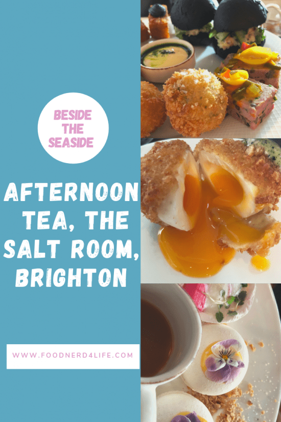 Afternoon Tea Pin for The Salt Room, Brighton