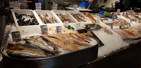 Smoked Fish Counter at Severn & Wye Smokery - foodnerd4life