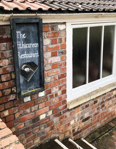 Ethicurean Restaurant Sign - best places to eat in Bristol - www.foodnerd4life.com