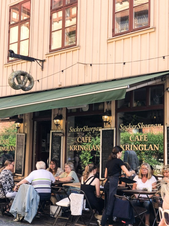 Street in Haga, Gothenburg, 10 Things to See and do in Gothenburg, Sweden - www.foodnerd4life.com