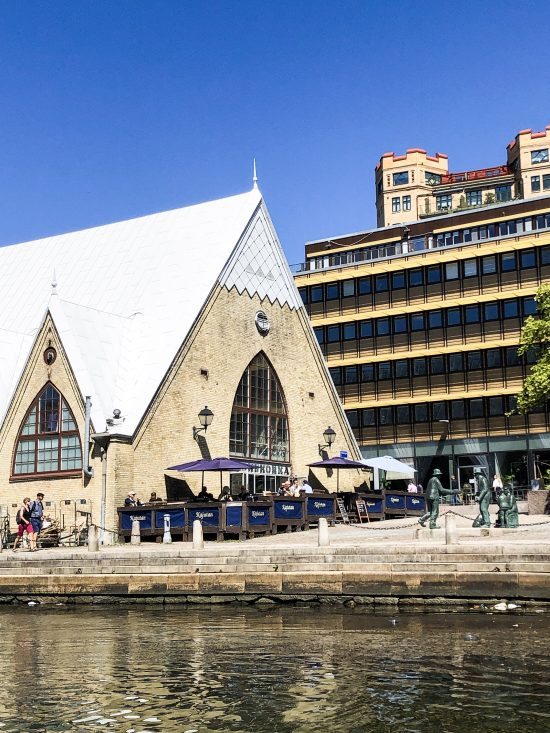 Outside of Fish Church – Feskekôrka, Top 10 Things to Do and See in Gothenburg, Sweden - www.foodnerd4life.com