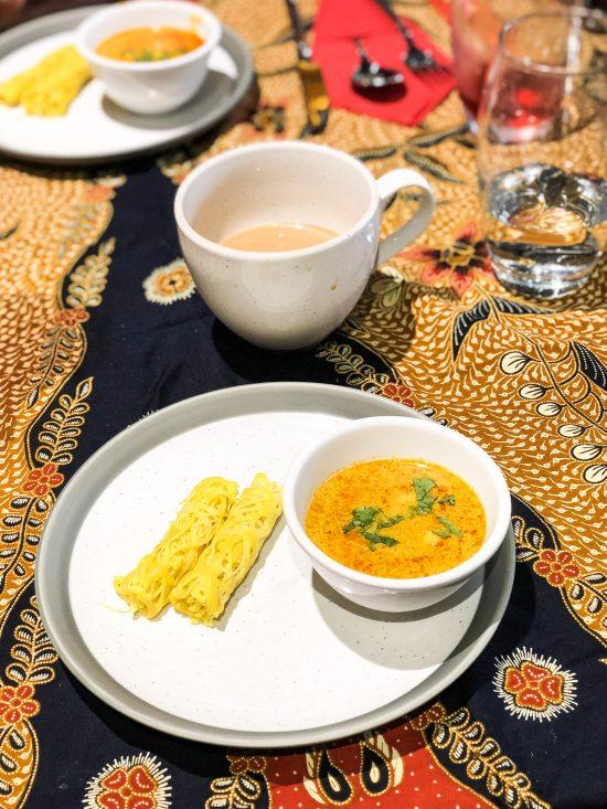 Roti Jula & Malay Curry at Malaysian Kitchen Afternoon Tea - www.foodnerd4life.com