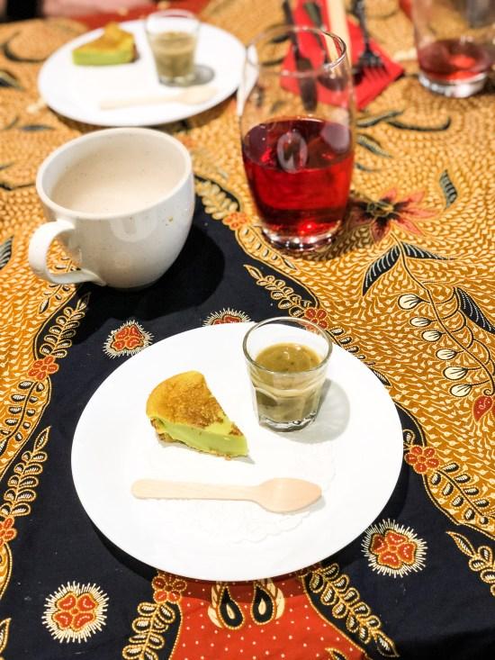 Kuih Bakar and Bubur Kacang at Malaysian Kitchen Afternoon Tea - www.foodnerd4life.com