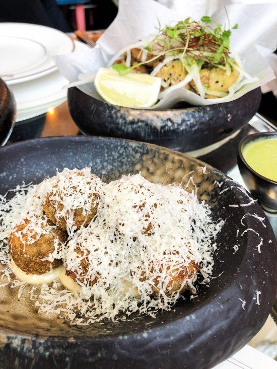 Wild Mushroom and Truffle Rice Balls, Brasserie of Light, Selfridges www.foodnerd4life.com