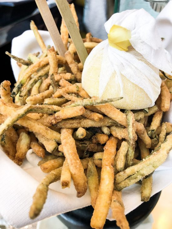 Zucchini Fritti Brasserie of Light, Selfridges, www.foodnerd4life.com