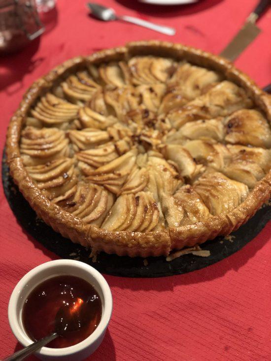 Apple Tart at 91 Ways Meal, Bristol www.foodnerd4life.com