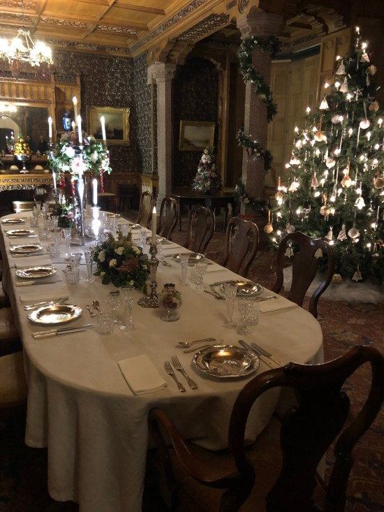 Christmas Dining Table at Tyntesfield House - www.foodnerd4life.com
