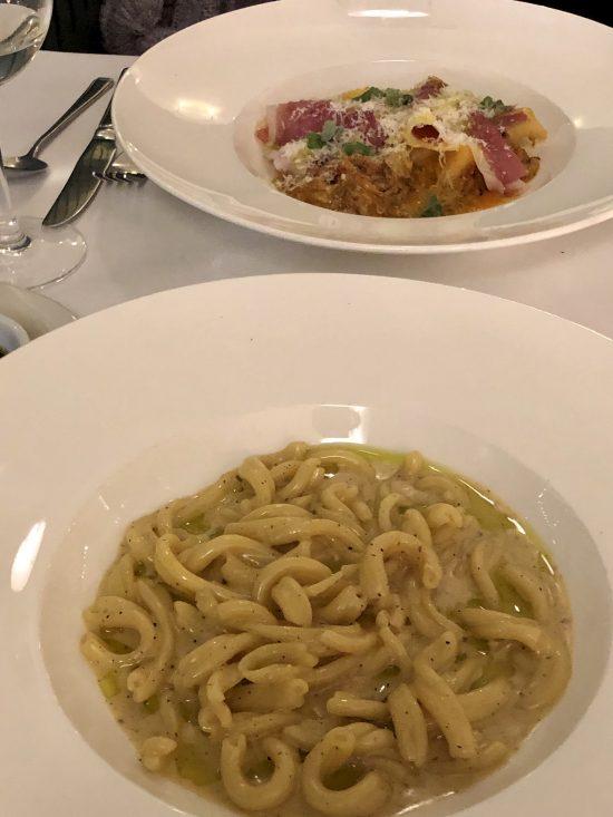 Casarecce Cacio e Pepe Pasta at Bianchis Bristol - www.foodnerd4life.com