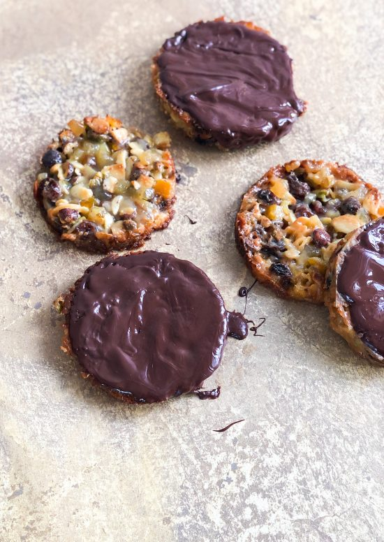 Fortnum and Mason Style Salted Caramel Florentines Recipe - www.foodnerd4life.com