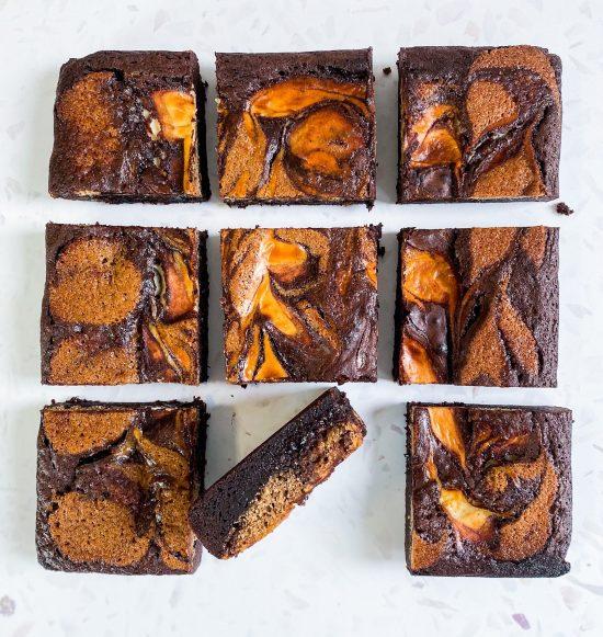 Tiramisu Brownies Recipe - www.foodnerd4life.com