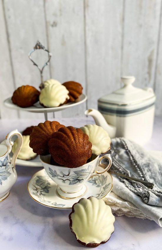 Earl Grey Madeleines Recipe - www.foodnerd4life.com