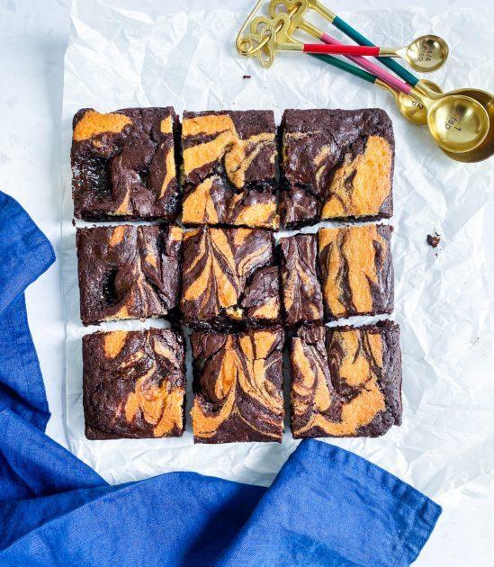 Overview Jaffa Cake Brownies Recipe - www.foodnerd4life.com