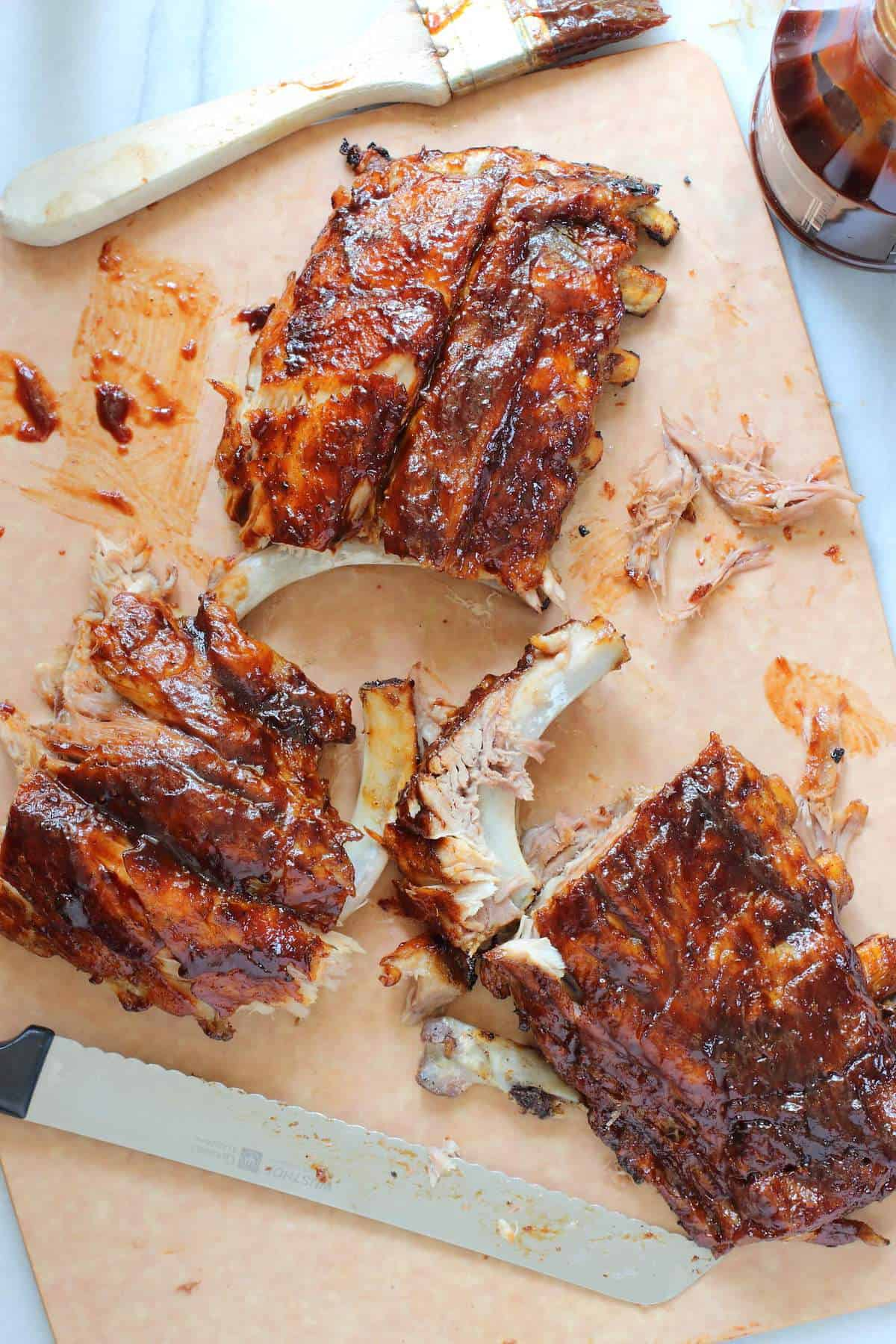 Sticky Barbecue Baby Back Ribs