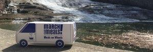 Foodnet van at Buttermilk Falls Ithaca NY