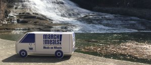 Foodnet Van at Buttermilk Falls Ithaca NY