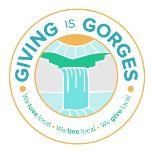 Giving is Gorges logo