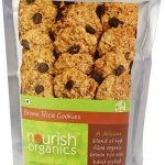 Nourish Organics Brown Rice Cookies