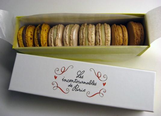 Les incontournables de Paris - macaron assortment by Pierre Hermé