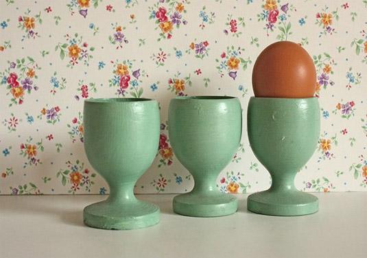 Three Vintage Egg Cups
