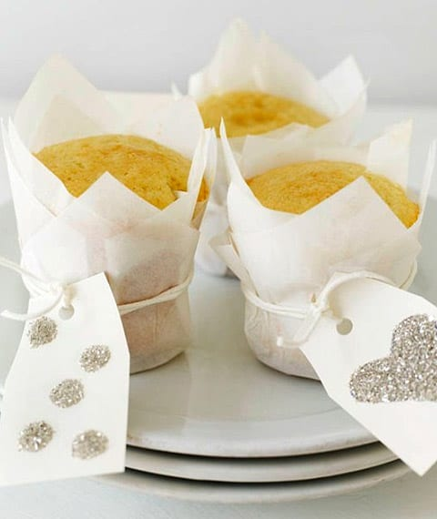 White Cupcake Paper Cups (Pack of 24) (by Sweet Paul)