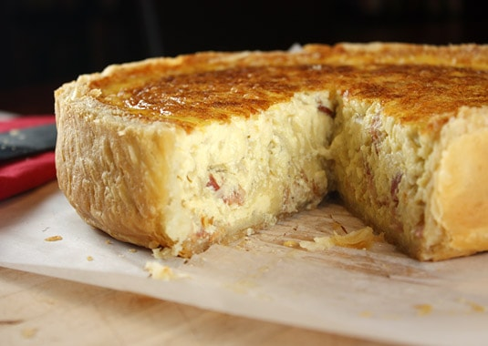 How to Make Classic Quiche Lorraine (and a Perfecly Flaky Pie Crust)