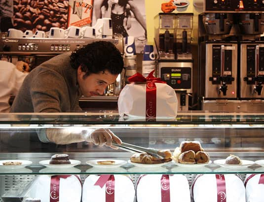4-Star Dishes… Served in New York's Gourmet Grocery Stores