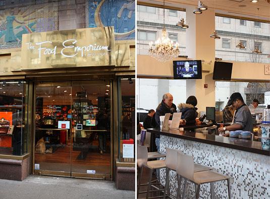 The Food Emporium - Exterior and Café
