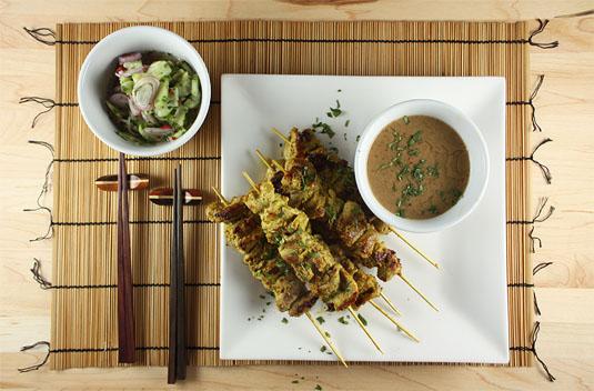 David Thompson's Pork Satay