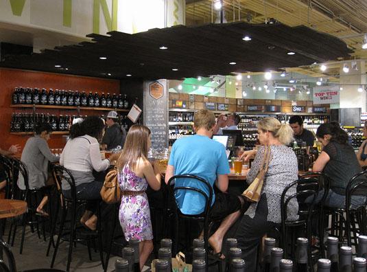The Lamar Bar at Whole Foods Market, Austin, Texas