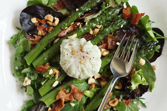 Dorie Greenspan's Bacon, Eggs and Asparagus Salad
