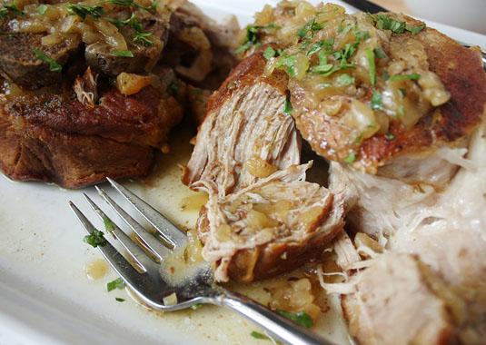 Juicy Braised Pork Shoulder.