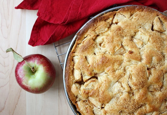 Deep-Dish Dutch Apple Pie, Winkel Style