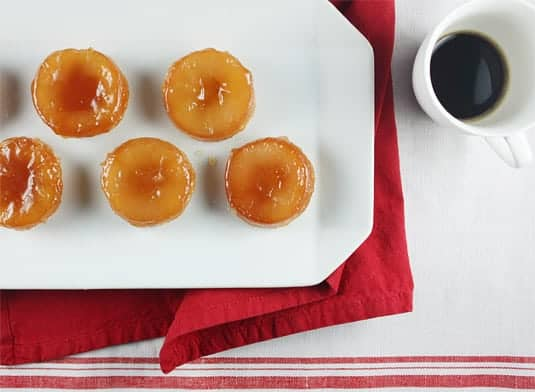 Mini Tatins, or how to turn a French classic into an adorable bite-size dessert