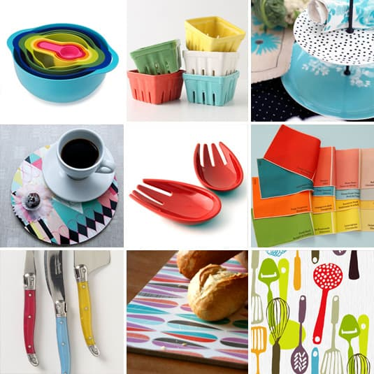 Shopping Gourmand: Colors