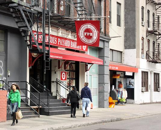 FRANÇOIS PAYARD BAKERY 116 West Houston Street, New York City