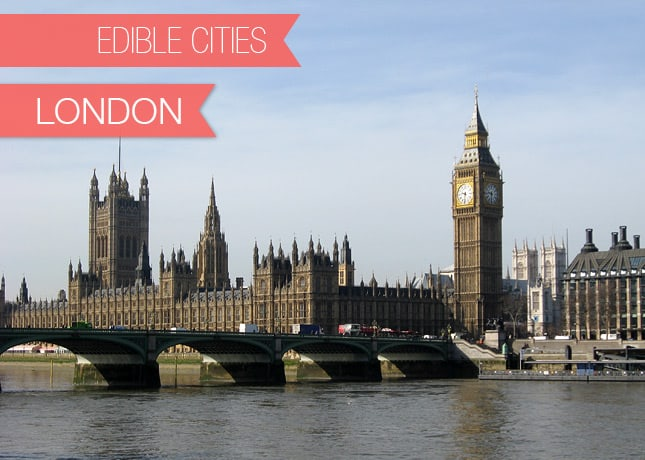 {Edible Cities} London, with Asha from Fork Spoon Knife / FoodNouveau.com
