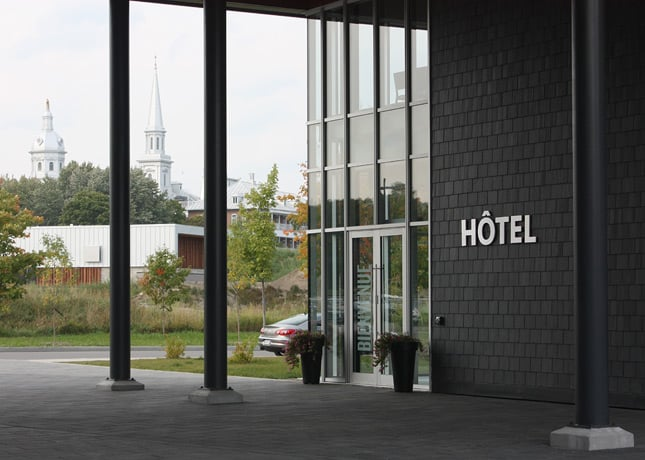 "Hôtel La Ferme, a new ""destination hotel"" in Baie-St-Paul, Charlevoix, located 70 km east of Quebec City / FoodNouveau.com"
