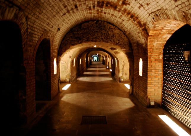The Dom Pérignon caves in Épernay, France // FoodNouveau.com