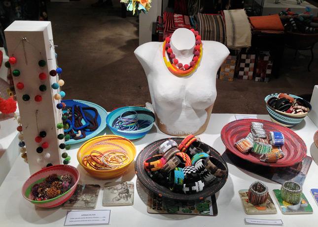 As'Art, L'Afrique d'Est en Ouest, handcrafted creations made by African artisans in Le Passage du Grand Cerf, Paris // FoodNouveau.com