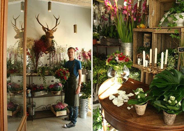 Messages du Grand Cerf, a flower shop in Le Passage du Grand Cerf, Paris // FoodNouveau.com