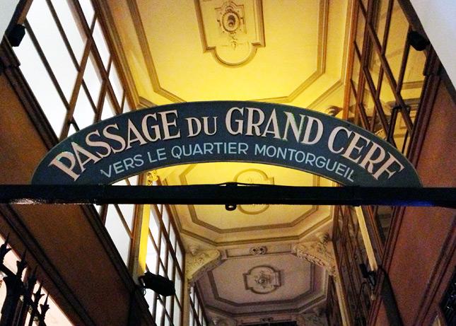 A Hidden Gem in Paris: Passage du Grand Cerf