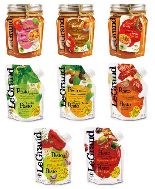Maison Le Grand Giveaway - Pestos and Rosé Sauces // FoodNouveau.com