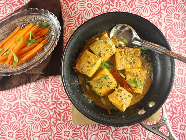 Salmon in Bengali Mustard Sauce // FoodNouveau.com