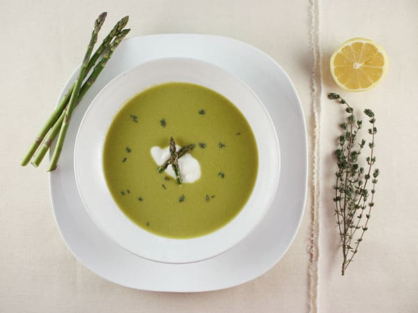 Asparagus and Lemon Velouté // FoodNouveau.com