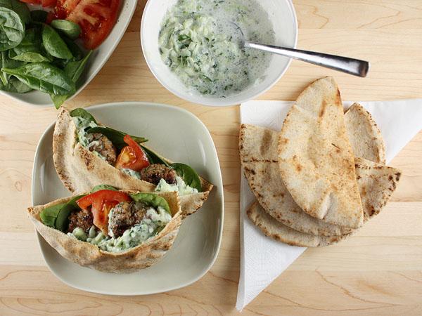 Mini Greek Lamb Burgers // FoodNouveau.com