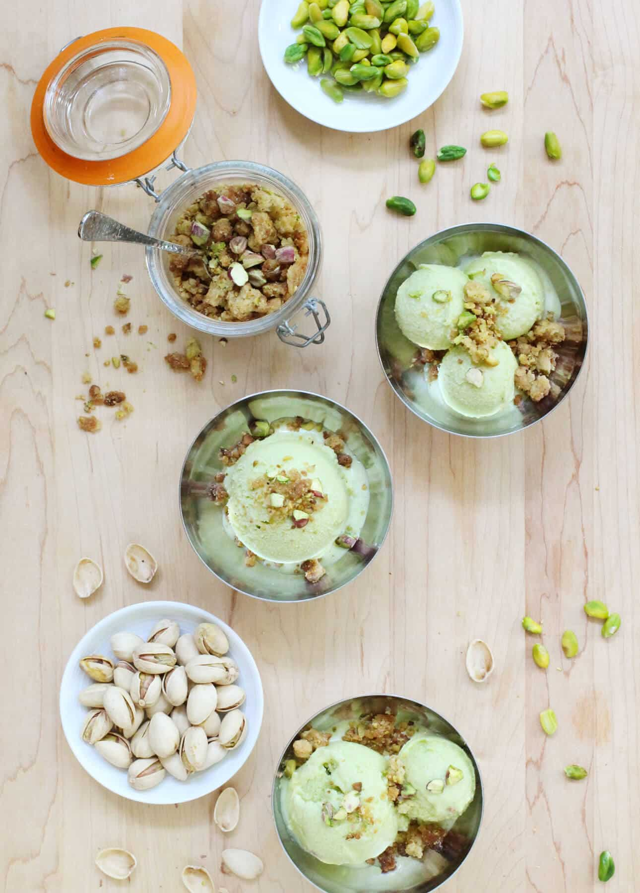 Pistachio Gelato (Made with Homemade Pistachio Paste)