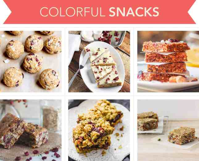 Holiday-worthy recipes to make colorful snacks with cranberries // FoodNouveau.com