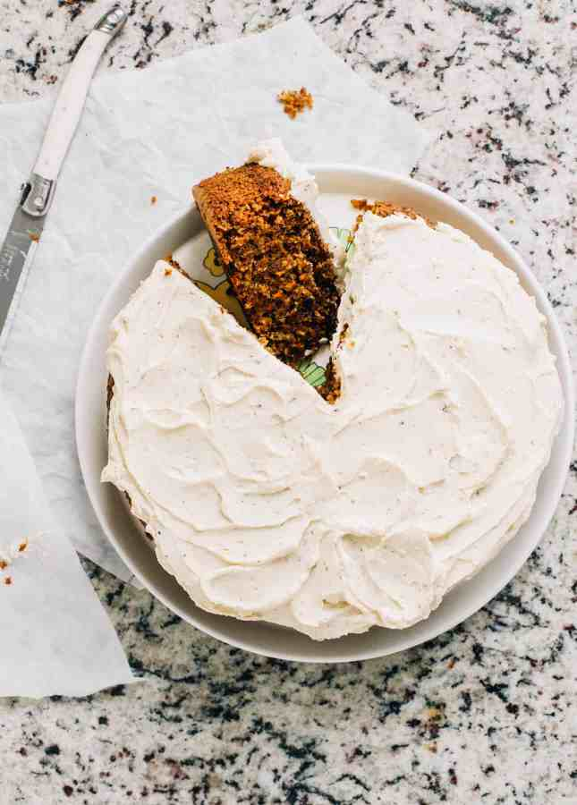 Magic Food Processor Carrot Cake, by Yummy Beet // FoodNouveau.com