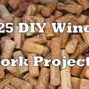 25 DIY Wine Cork Craft Project Ideas