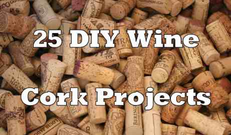 DIY wine cork projects